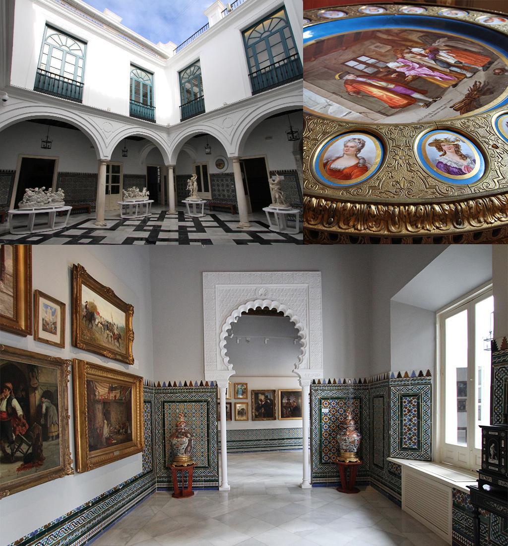 bezoek een klein museum in Sevilla