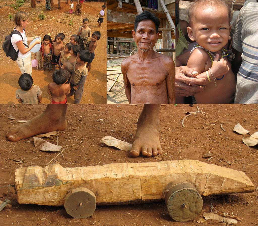 Zuid Laos en zijn primitieve dorpjes