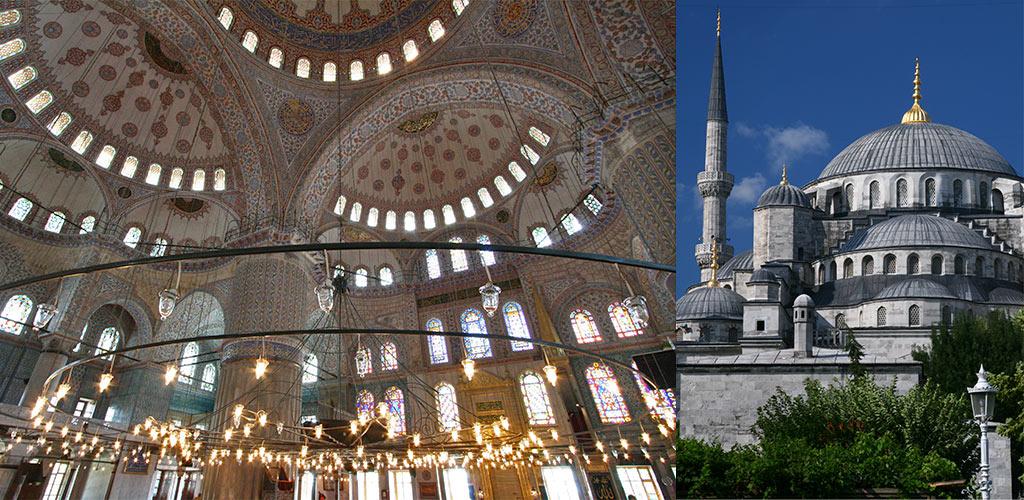 blauwe moskee Istanbul