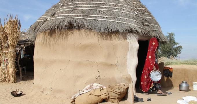 Boerderij Rajasthan