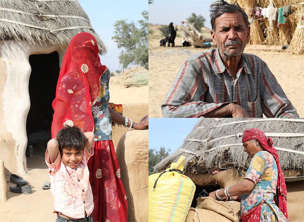boerderij tussen Bikaner en Shekawati