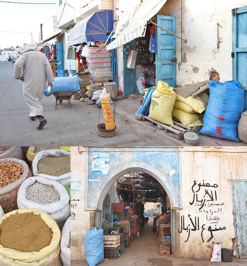 boodschappen doen in Marokko