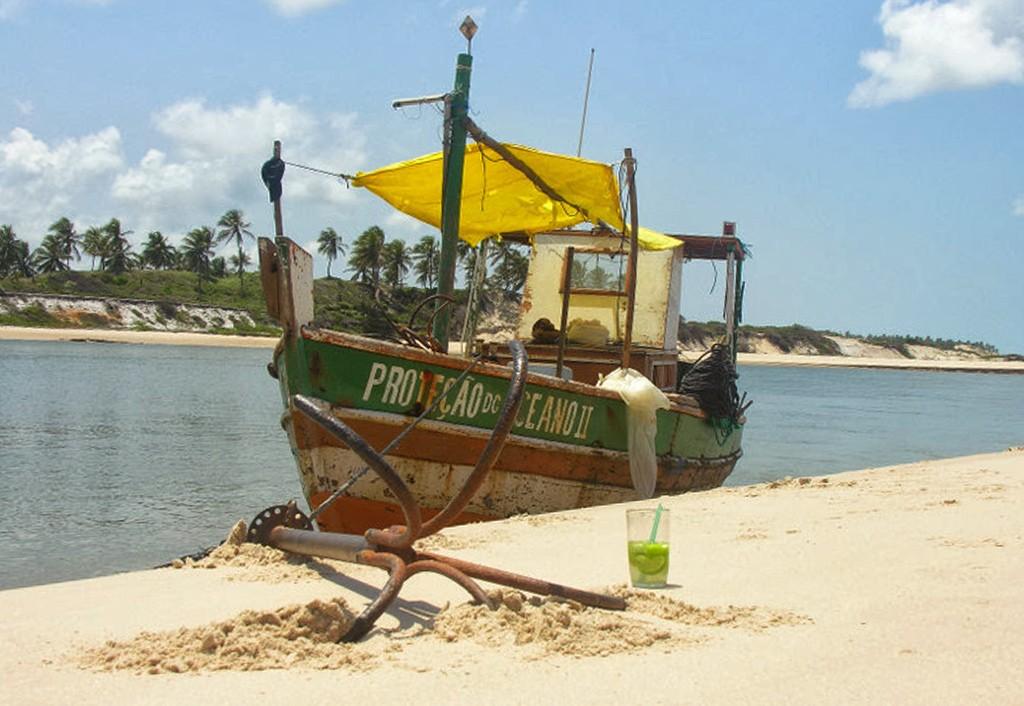boottocht Brazlilië met drankje