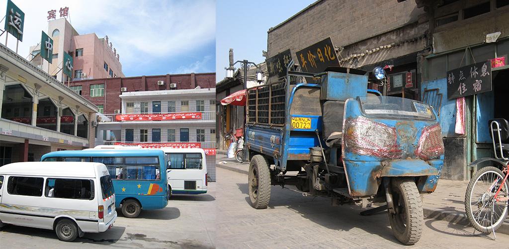 bus Pingyao naar Datong