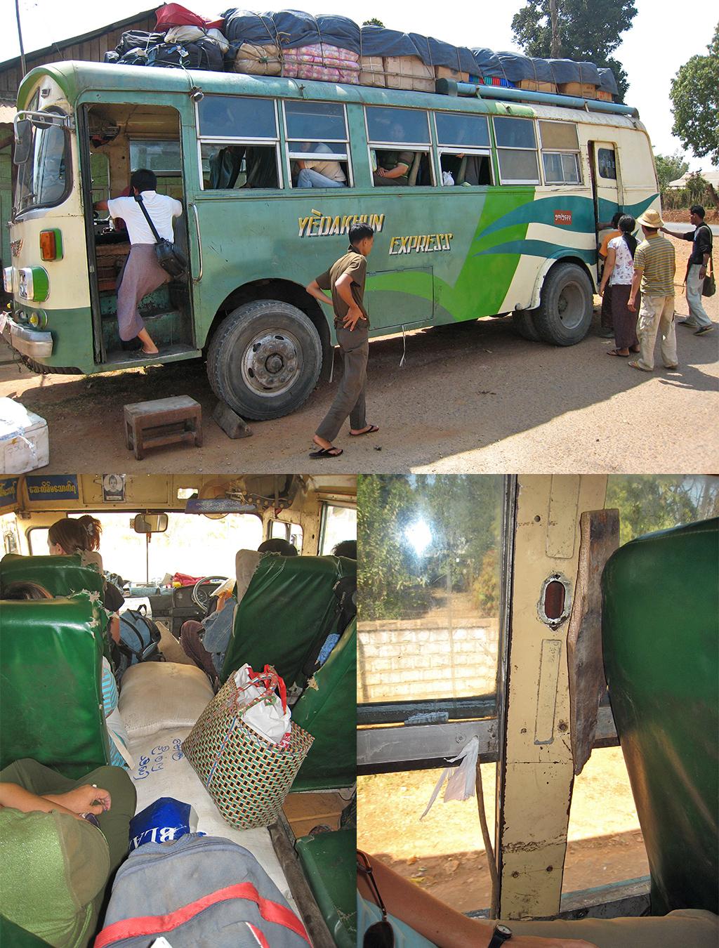 bus naar Hsipaw