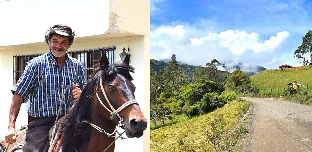 dagtrip Colombia sfeerbeelden