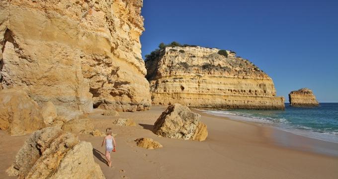 de Algarve in de winter