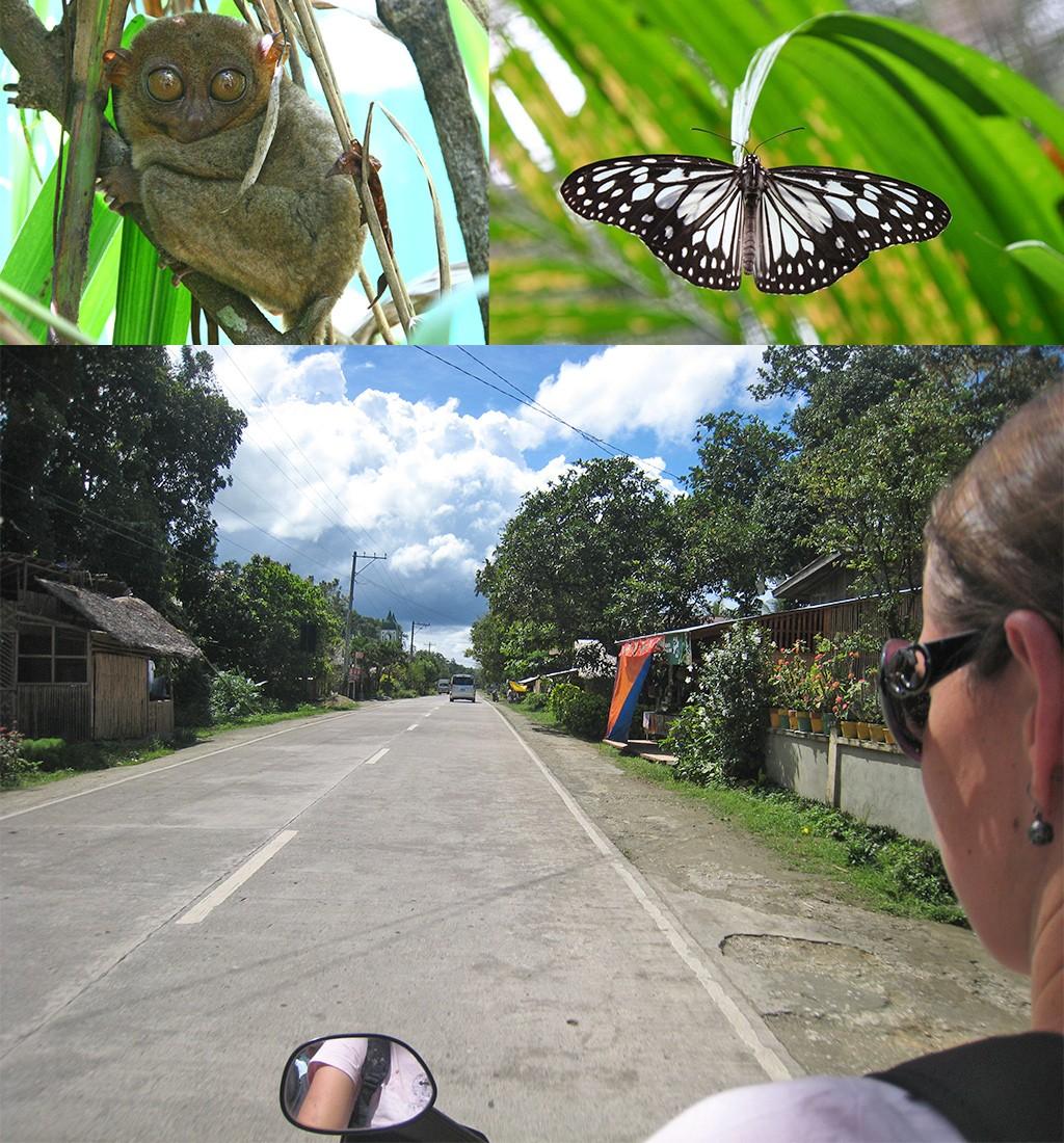 de Filippijnen ontdekken op de motorbike