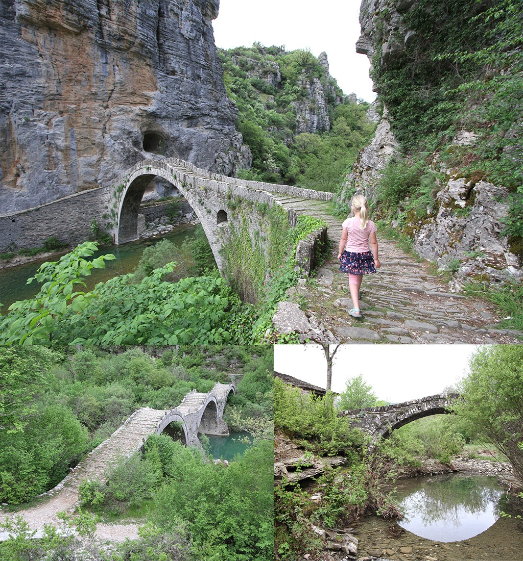 de boogbruggen van Zagoria