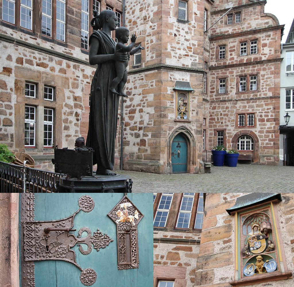 de markt van Marburg