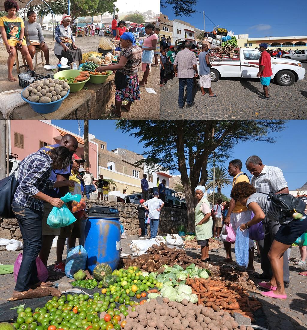 de markten van Sao Vicente
