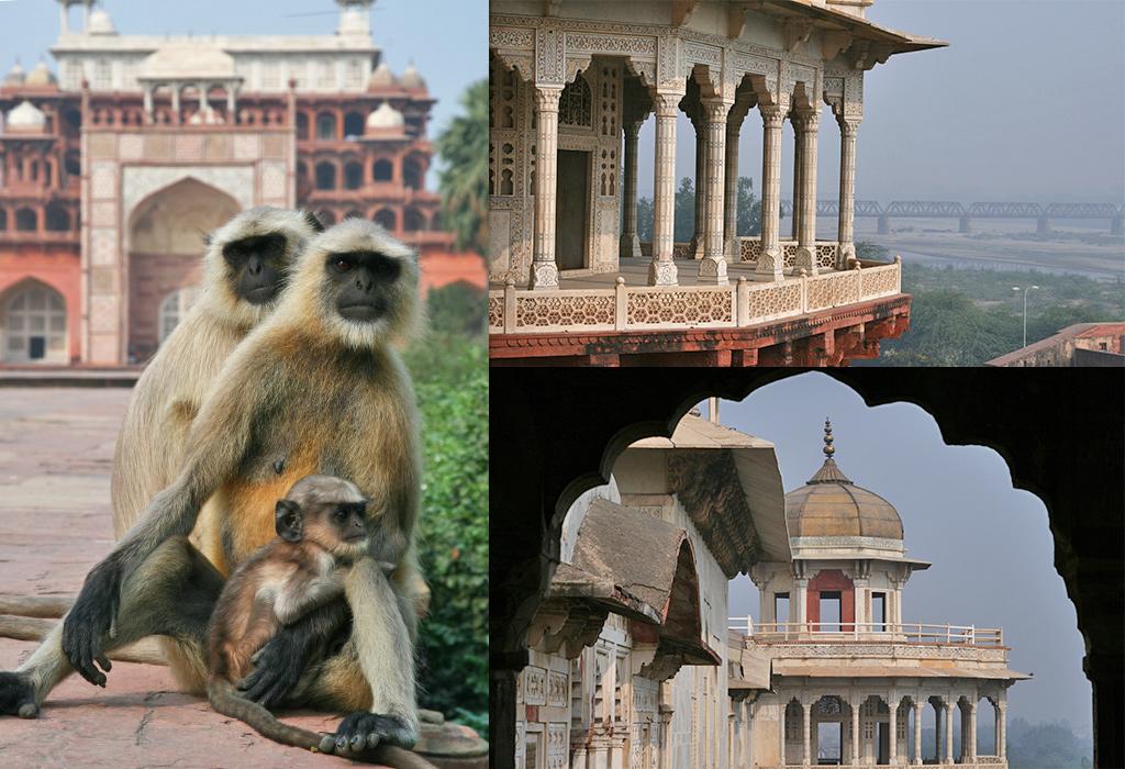 de minder bekende bezienswaardigheden van Agra