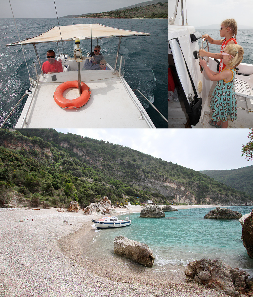 de mooiste stranden van Albanië - Kroreza
