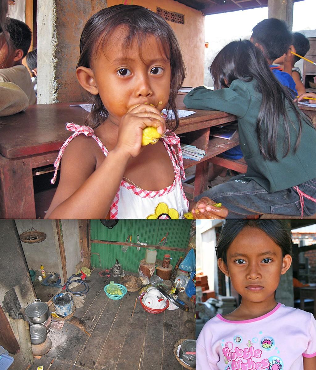 de omgeving van ons vrijwilligerswerk in Cambodja