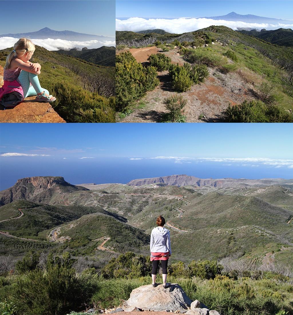 doen op La Gomera - hiken naar de hoogste top