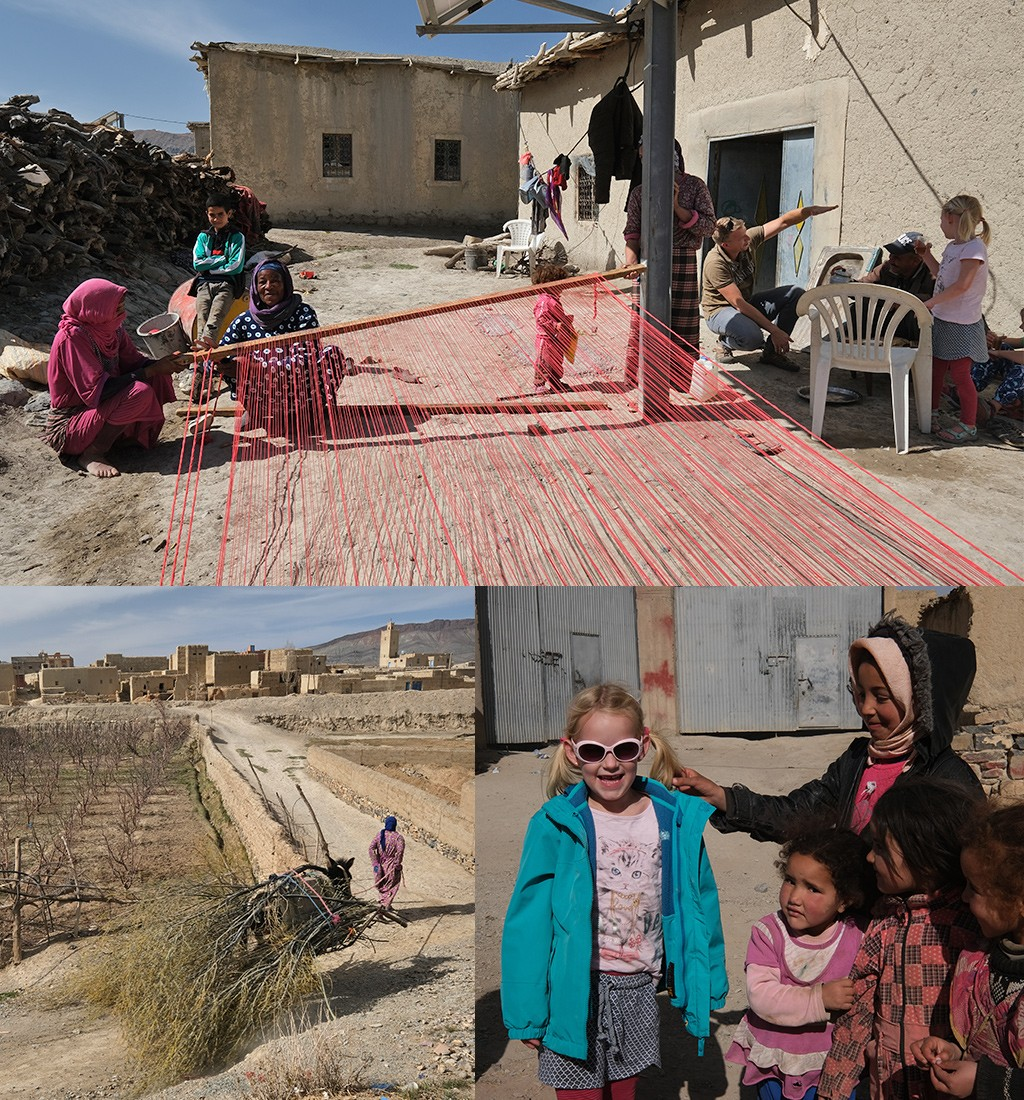 dorpjes Hoge Atlas Marokko