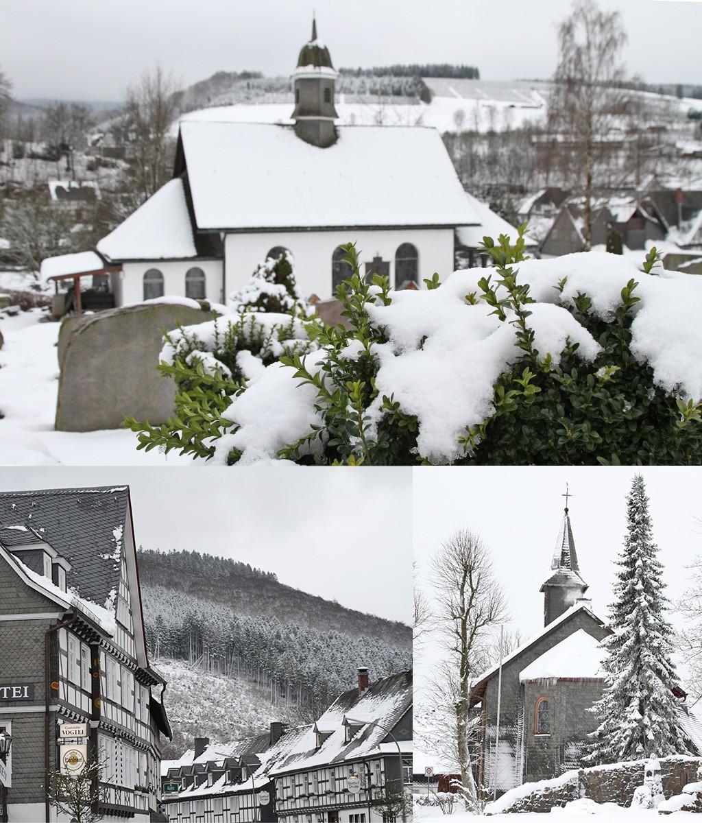 dorpjes Rothaargebirge