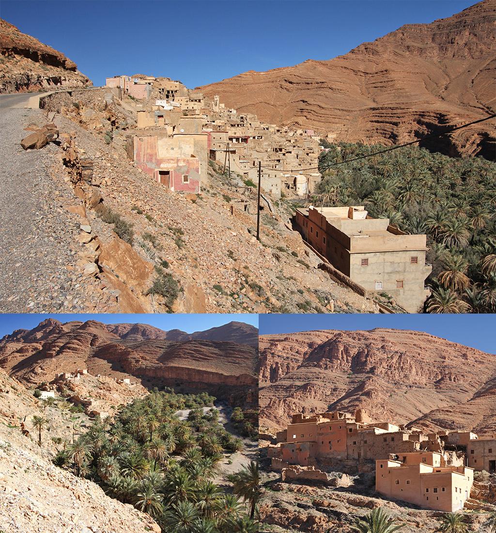 dorpjes voorbij Aït Mansour