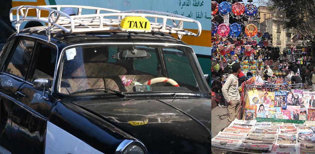 drukte in Caïro
