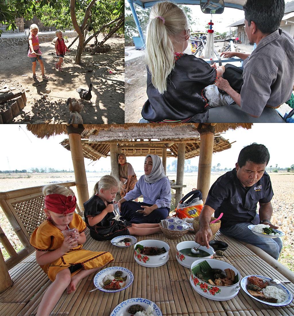 ecotorisme op Lombok bij Setanggor