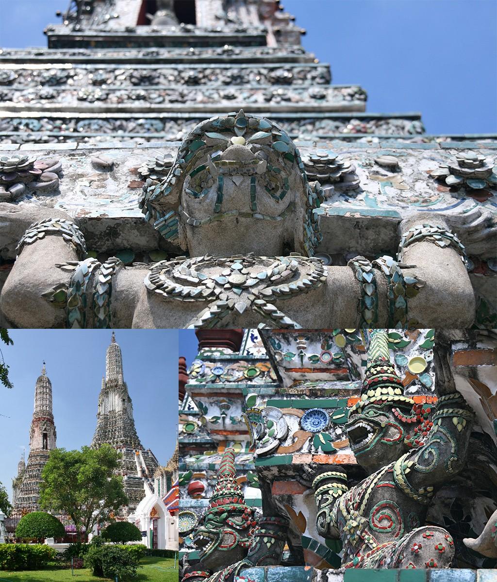 eerste keer Bangkok - Wat Arun