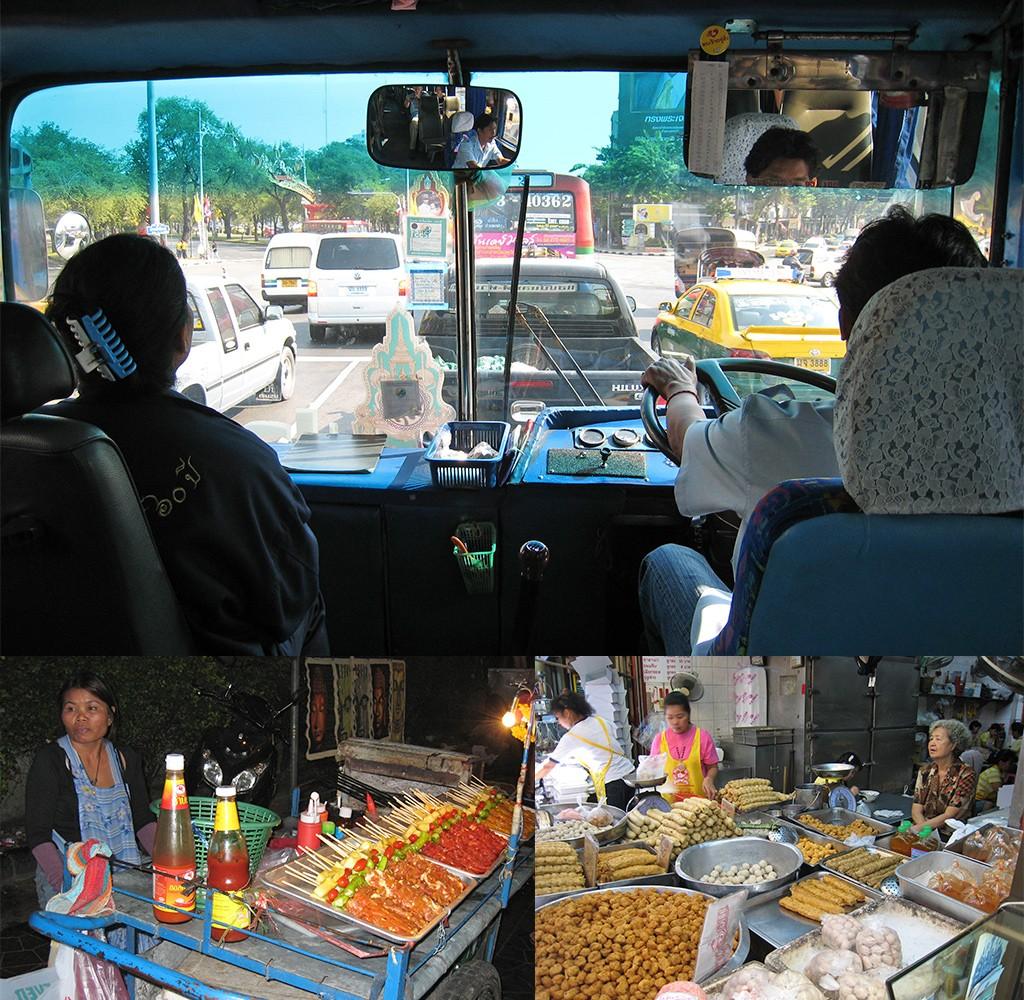 eerste keer Bangkok overweldigend