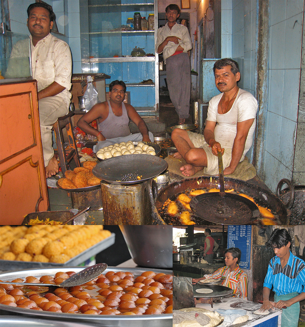 eerste keer India - pas op met eten