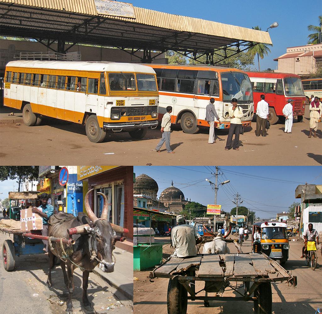 eerste stop Karnataka - Bijapur