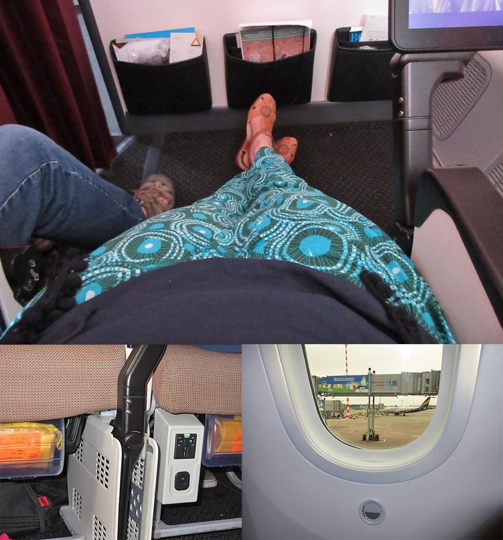 ervaringen Etihad beenruimte en nieuwe Dreamliner