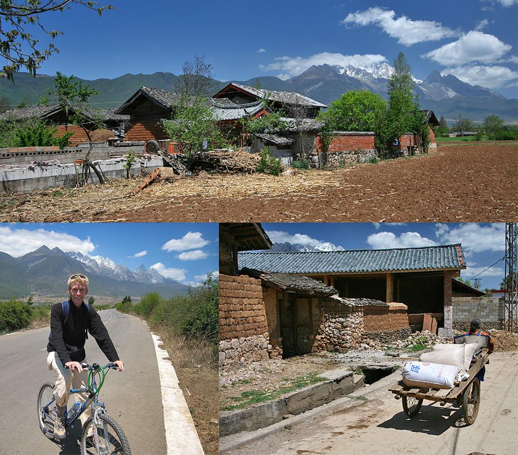 Fietsen omgeving Lijiang