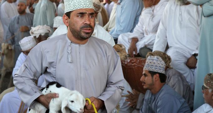 geitenmarkt Nizwa Oman