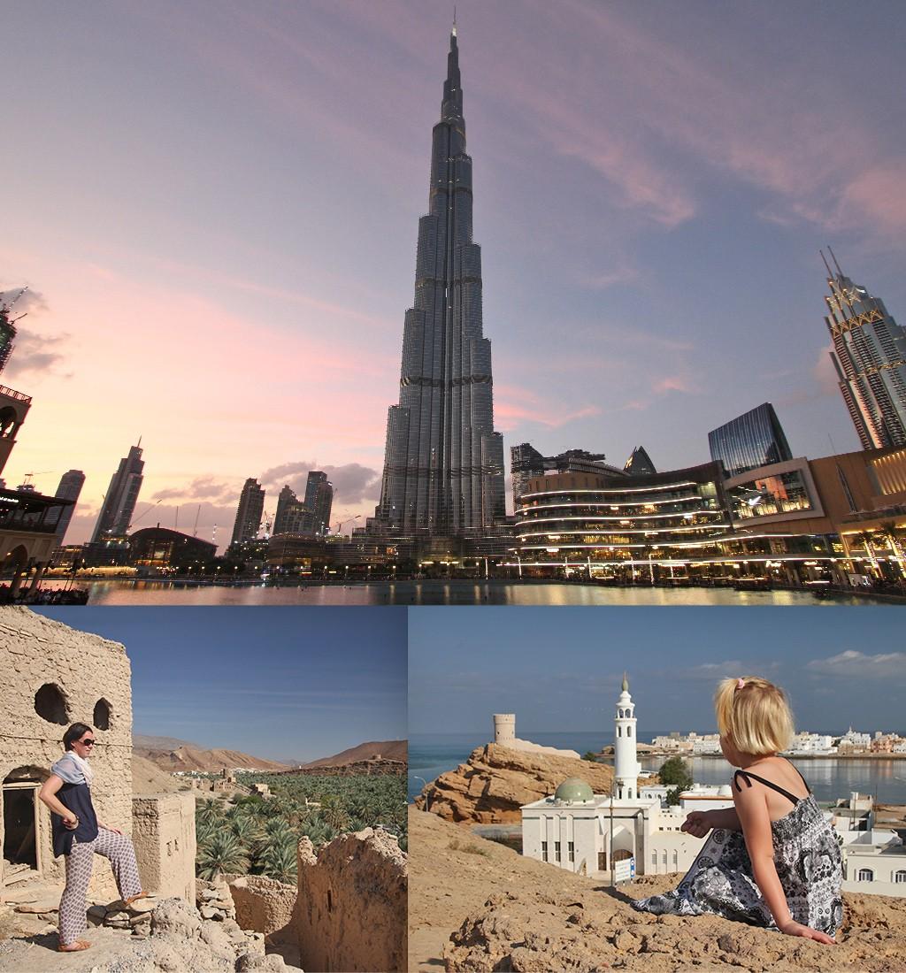 goedkope Kerstvakantie naar de zon in Dubai en Oman