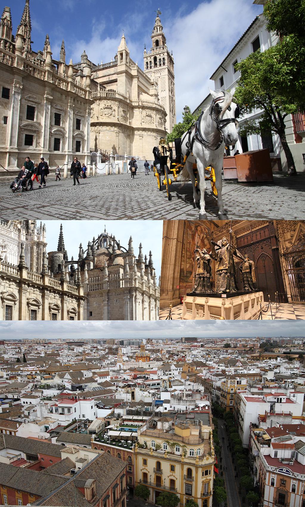 gratis zien en doen in Sevilla - kathedraal