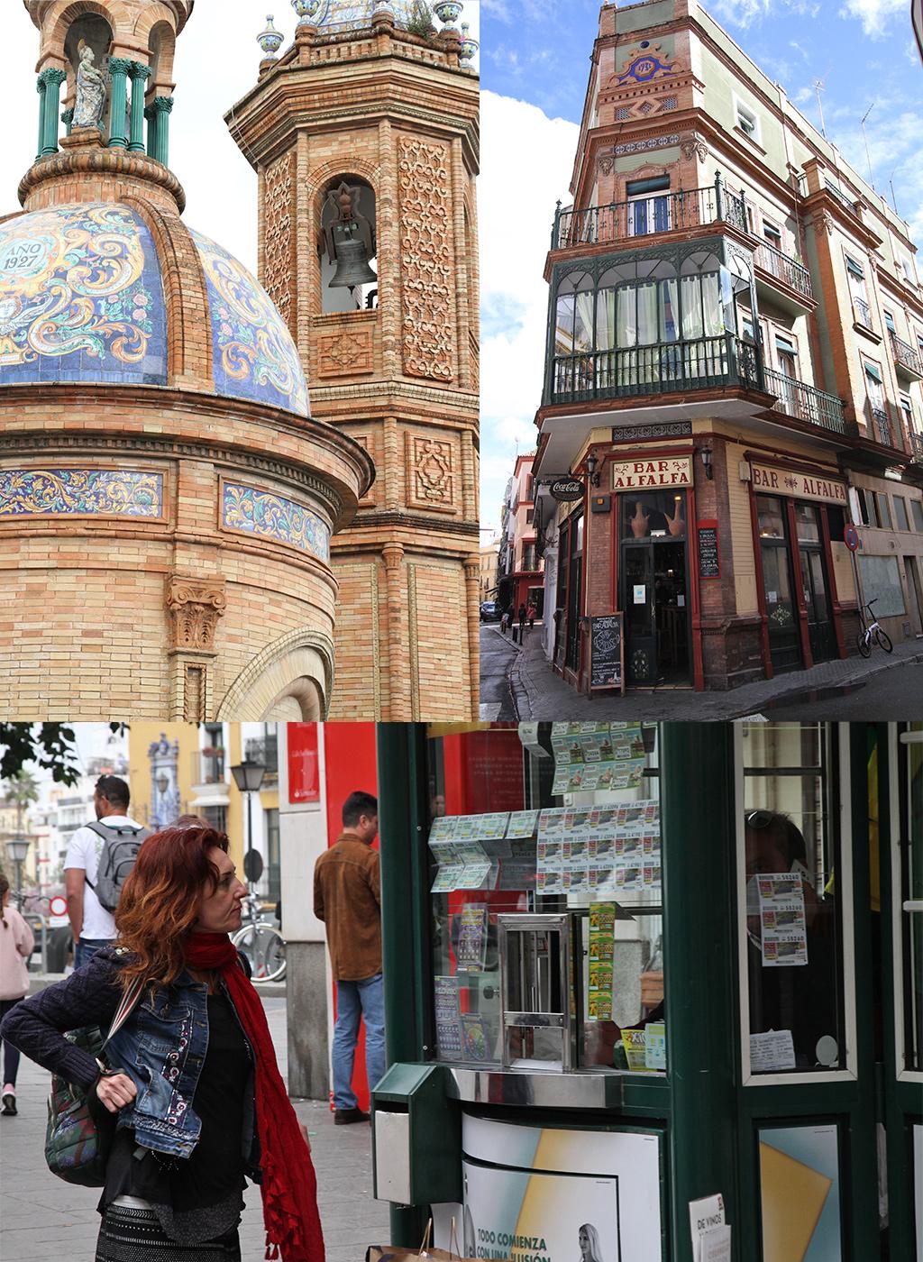 gratis zien en doen in Sevilla rondstruinen