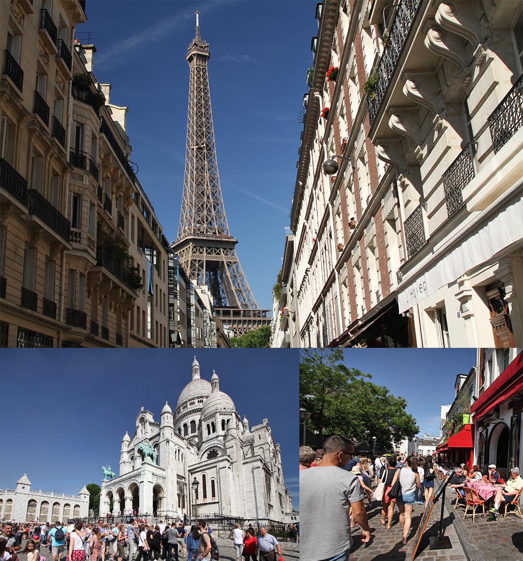 grote drukte in Parijs
