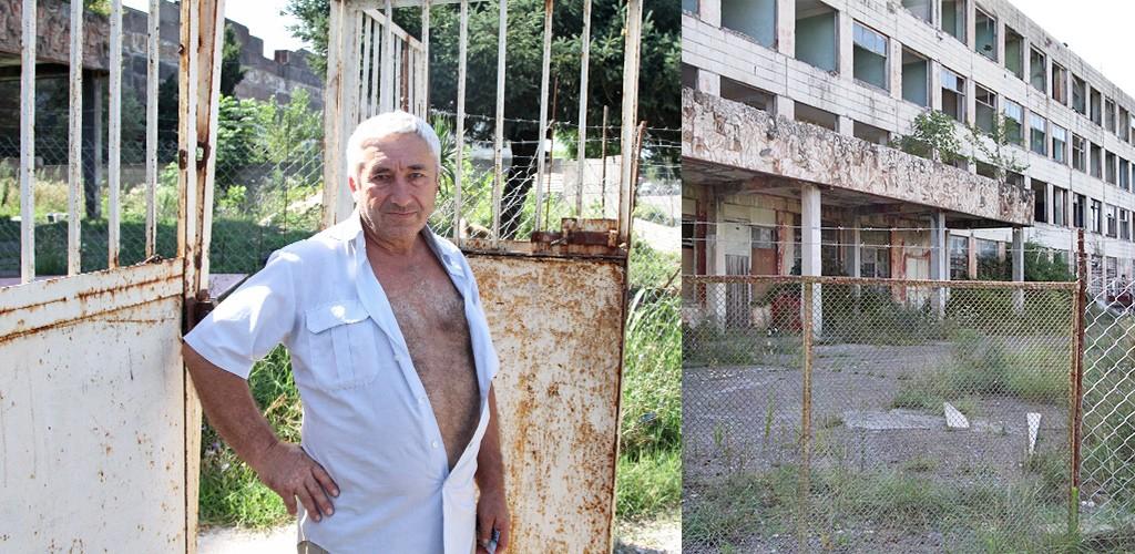 half verlaten fabrieken Kutaisi
