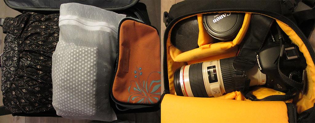 handbagage inpakken