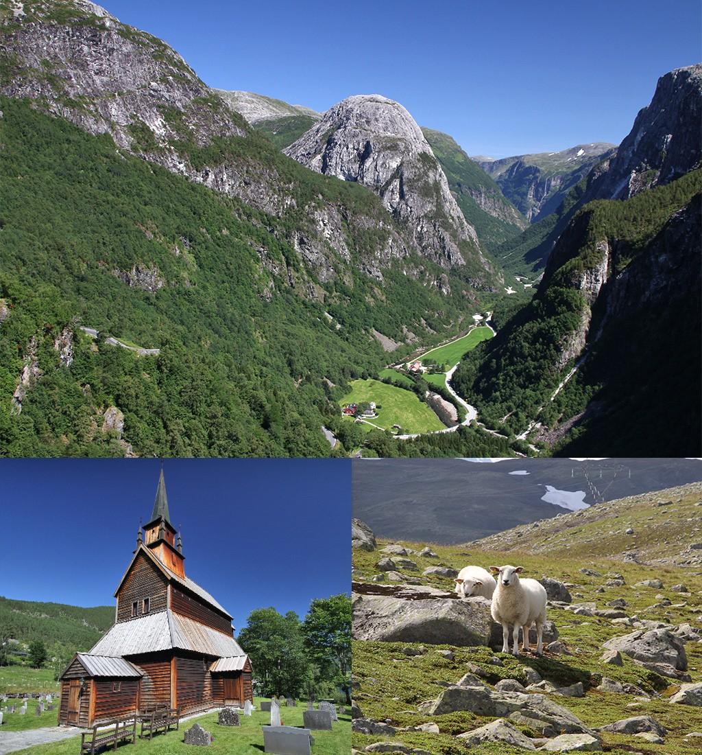 het Sognefjord heeft veel gezichten