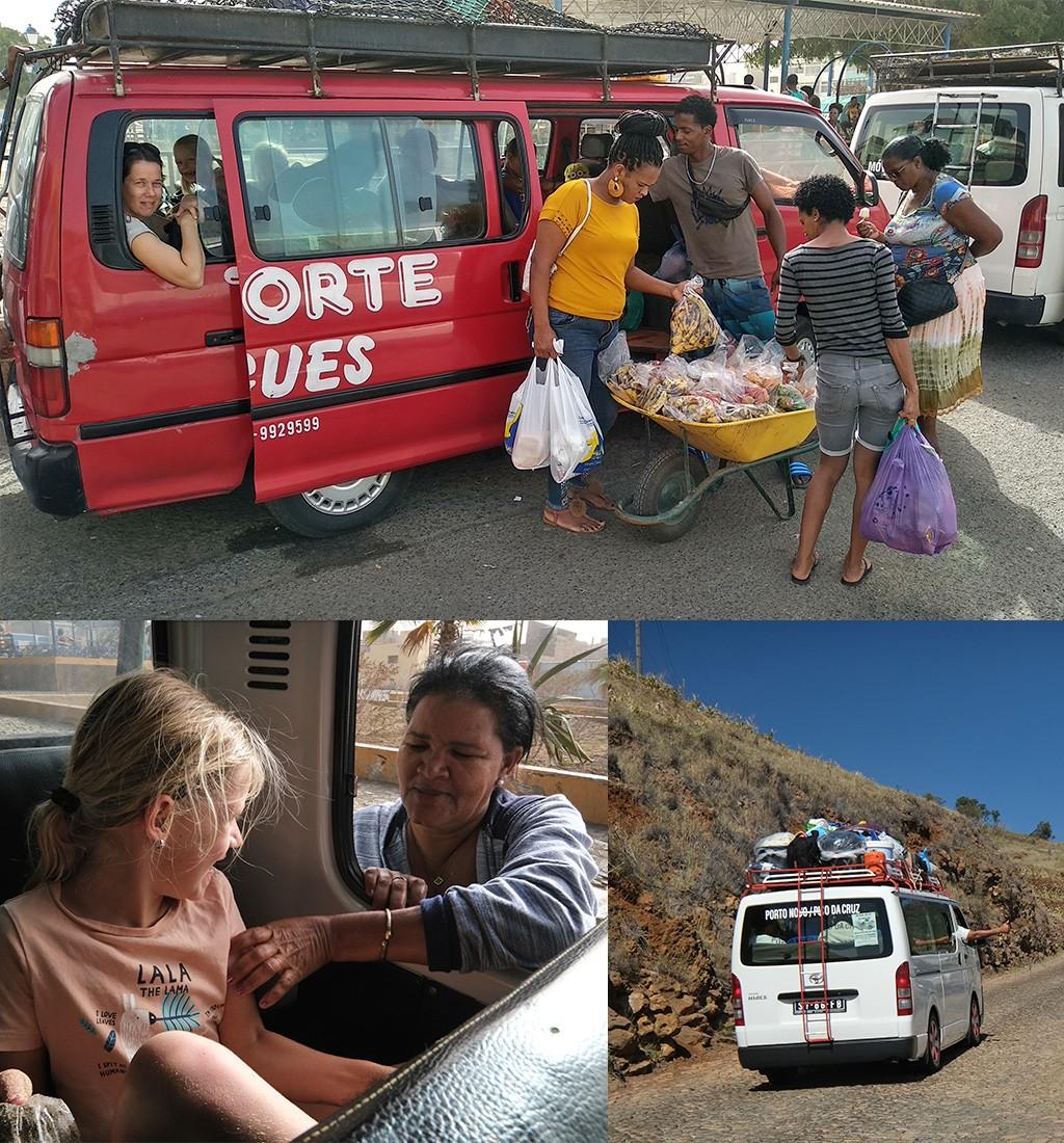 het lokale leven in Kaapverdië - aluguer