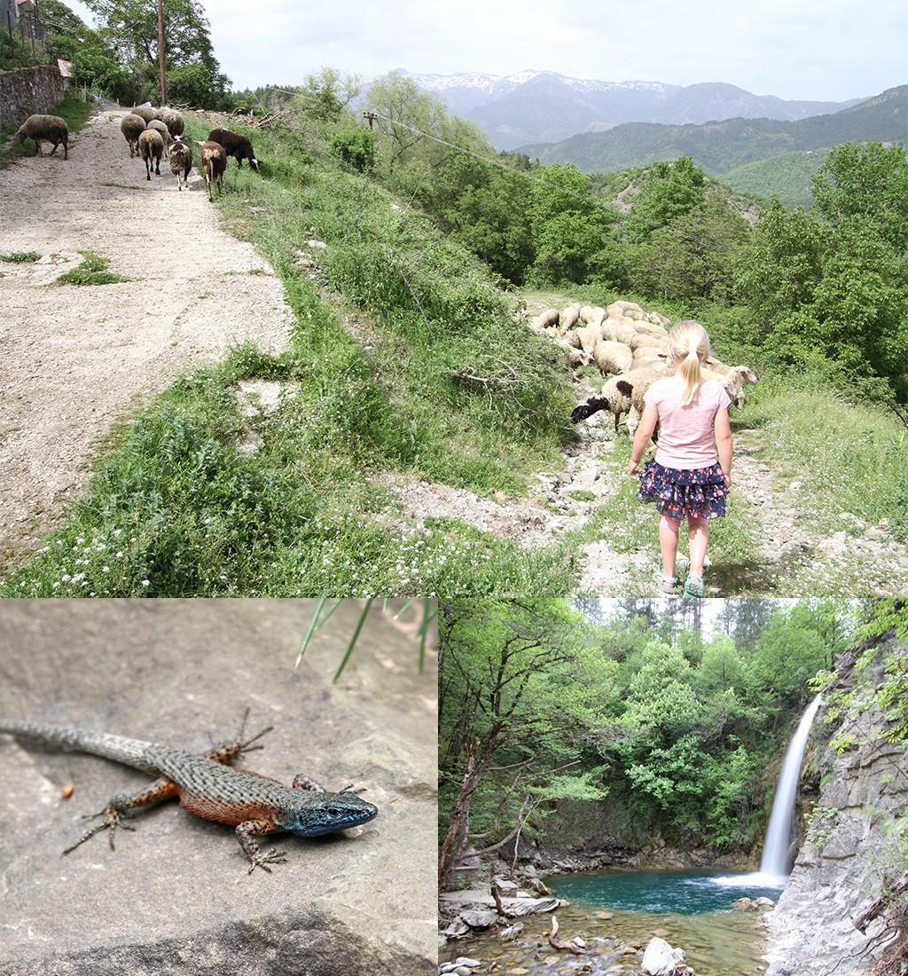 hike Iliochori waterval Zagoria