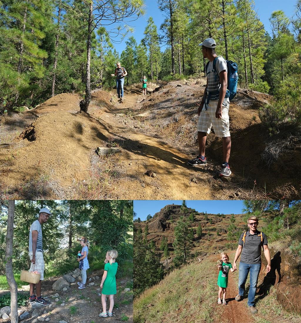 hike op Santo Antao bij Espongeiro