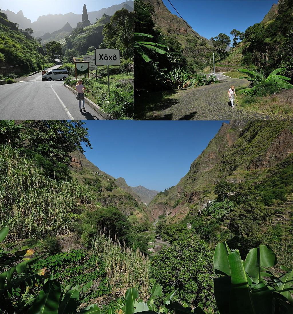 hike op Santo Antao bij Xoxo