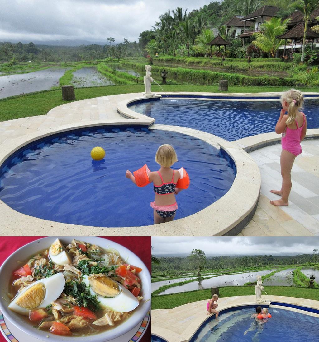 homestay Sidemen Bali faciliteiten resort