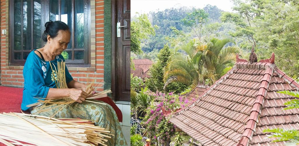homestay niet toeristische route Bali