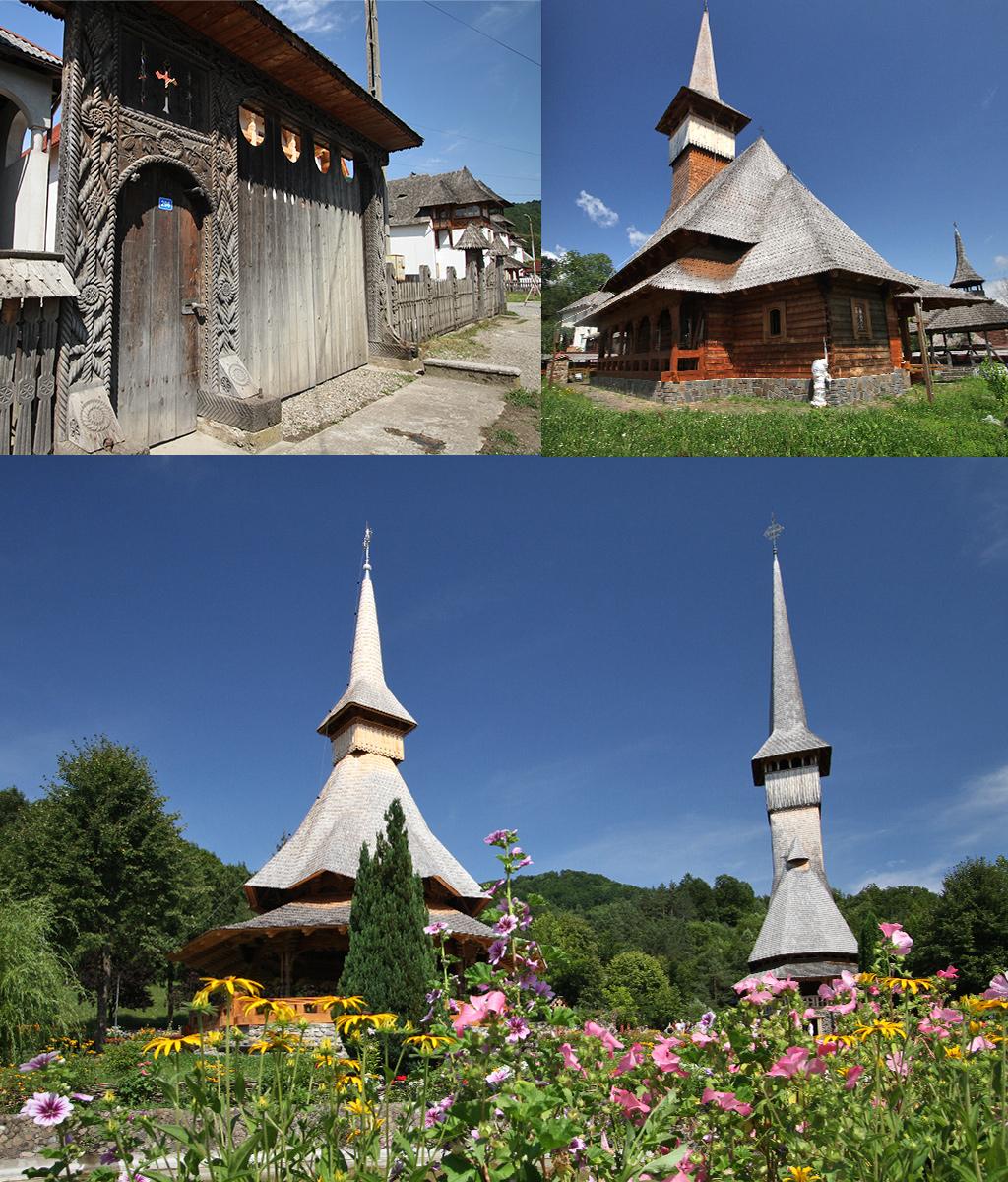 houten poorten en kerken Maramures