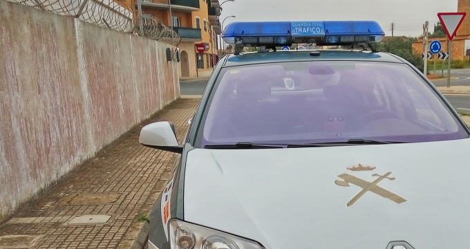 in Mallorca op het politiebureau