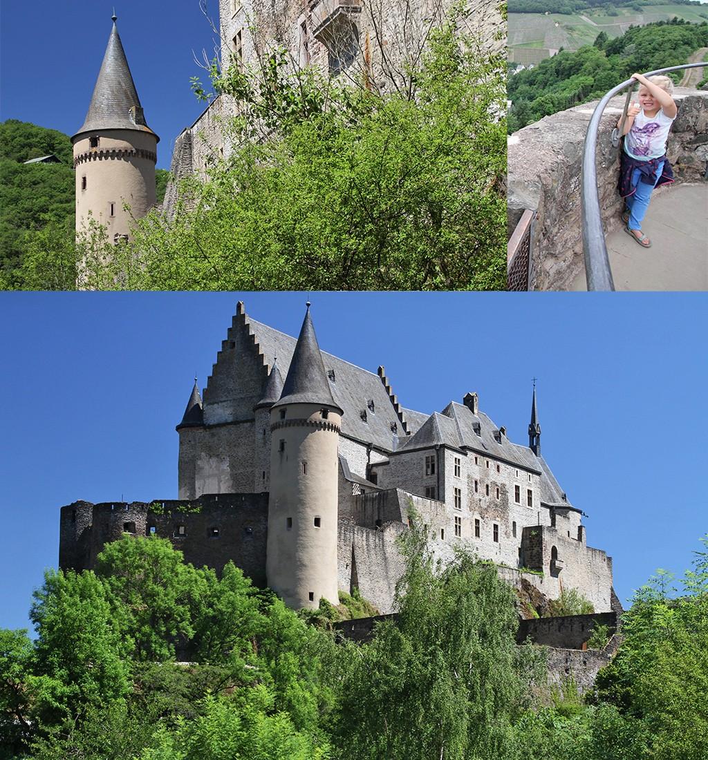 indrukwekkendste kastelen Luxemburg - Vianden