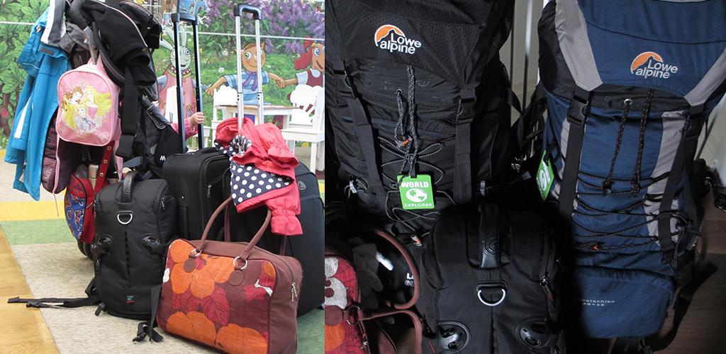 inpakken voor vakantie met kinderen liever minder tassen