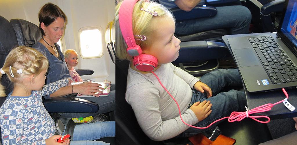inpakken voor vakantie met kinderen - vermaak onderweg
