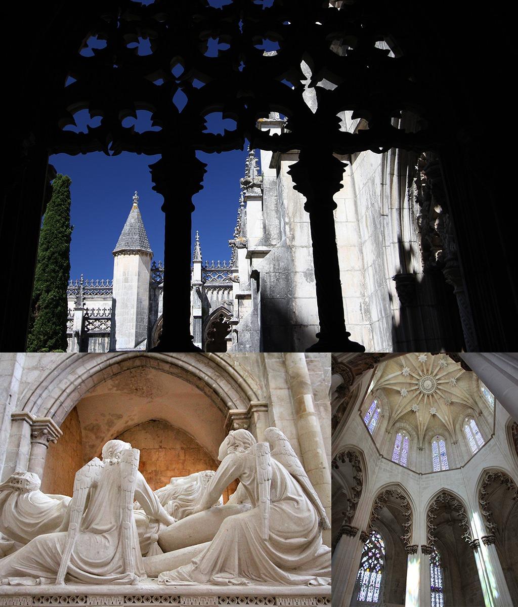 Batalha Alcobaca Tomar kloosters